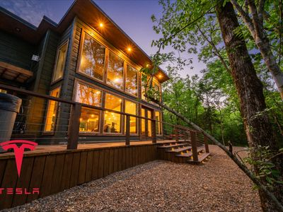 """Photo for """"The cabin on the Creek"""" HIGH LUXE 2 Bedroom with King Master Suites!"""
