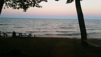 Photo for Lake Huron Waterfront Oasis, Sandy Beach