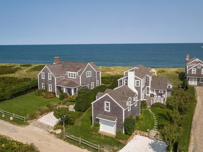 Photo for Quidnet Oceanfront House + Guest House w/ Beach Path & Flower Gardens