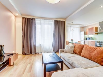 Photo for Luxurious apartment of 90 sq.m.