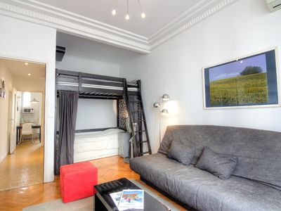 Photo for Lovely apartment for 4 people with A/C, WIFI, TV and balcony
