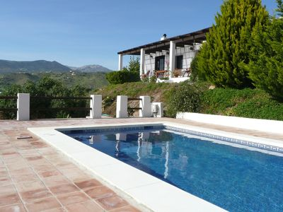 Photo for Villa with private pool and panoramic views with internet acces