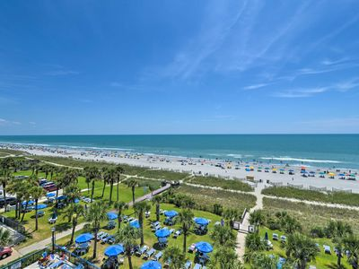 Photo for Waterfront Myrtle Beach Condo w/ Deck & Ocean View