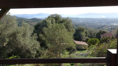 Photo for Detached house in a quiet, between sea and mountain, very beautiful panorama