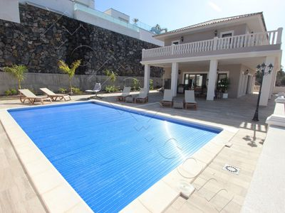 "Photo for Villa with large terrace and pool, Atlantic Ocean view over ""Costa Adeje"""