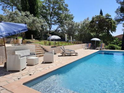 Photo for Villa Fanny 4 stars - sleeps 6 - with superb pool  and parking for 4 cars