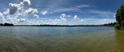 Panoramic View from Our Dock