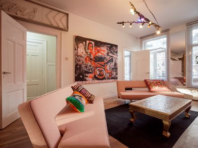 Photo for Sleek and sophisticated Bed and Breakfast, sleeping up to four people, situated in Amsterdam?s popul