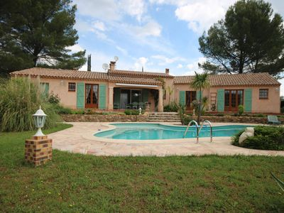 Photo for Mediterranean holiday home with large garden and private swimming pool