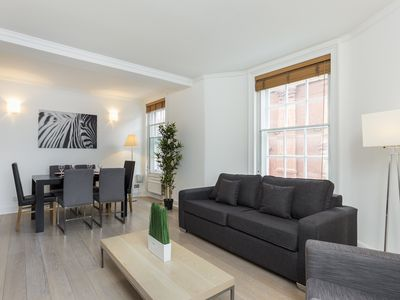 Photo for LOVELY 2BR 2BA FLAT IN COVENT GARDEN - CHARING CROSS AREA - SUPER CENTRAL!