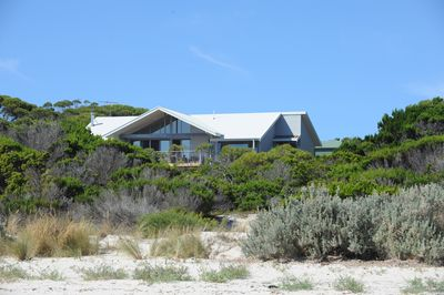 Secluded bush and beach setting