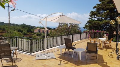Photo for Rosetta1-panoramic Villa 1 km from the center of Cefalù