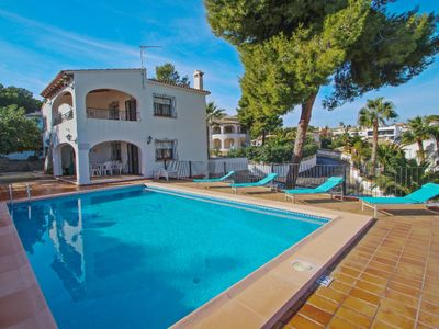 Photo for La Boniquessa - sea view villa with private pool in Benissa