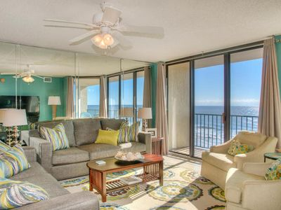 Photo for Beach Club II 5B Spacious 3 Bedroom Condo Offering Direct Oceanfront Views