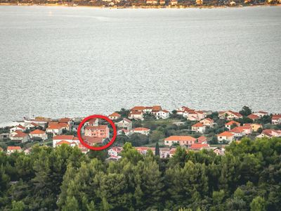 Photo for Two bedroom apartment with terrace and sea view Neviđane, Pašman (A-18054-d)