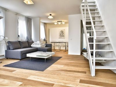 Photo for Laeken Duplex VI apartment in Brussels Centre with WiFi.