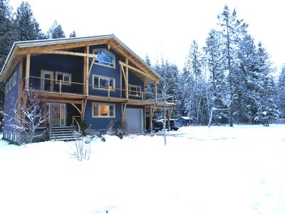 Photo for Painted Turtle Lodge - 5 BR/2.5 BA Modern Chalet w/ Hot Tub