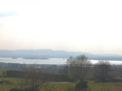 Photo for Villa with idyllic views of Loch Leven. Location excellent for travelling & golf