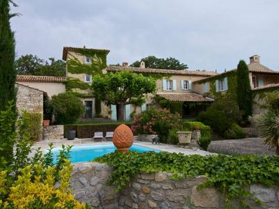 Photo for SEGURET apartment in MAS with swimming pool, tennis court, boulodrone