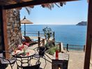 OLONDI cottage: private Gazebo and sunbathing terrace with 3 sunbeds (not shared