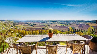 Photo for Maison De Charme In A Medieval Village With Stunning Countryside Views & Garden
