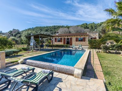 Photo for Finca Lucia - Cosy Two-Bedroom Finca with Private Pool in Pine Wooded Area within easy Access to Pollensa y Alcudia! - Free WiFi