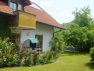 Photo for Holiday apartment Osterhofen for 2 - 4 persons with 1 bedroom - Holiday apartment in a two family ho