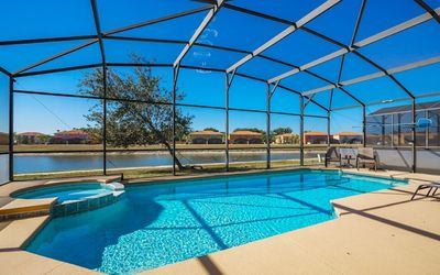 Photo for Bella Vida Resort 6 Bed 5 ½ Bath Orlando Villa- West Facing Pool with Lake View