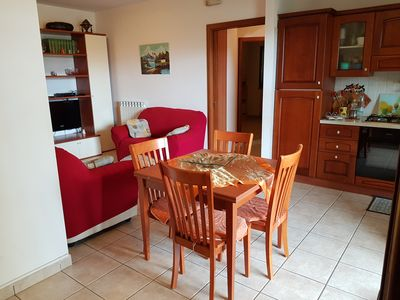 Photo for 90 sqm holiday apartment with 220 sqm garden and parking space in Tortoreto Lidoto