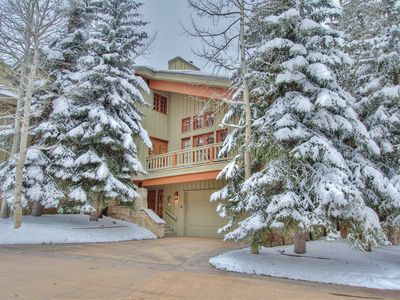 Photo for Epic Savings NOW! Wrapped in Mountain Views - Slope-side Living w/ Hot Tub + Shuttle