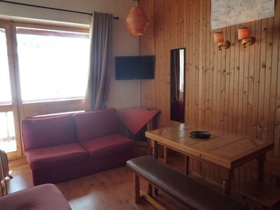 Photo for La Plagne * 3Rooms Duplex any comfort foot of the slopes * * * * Balcony Shops Plein Sud