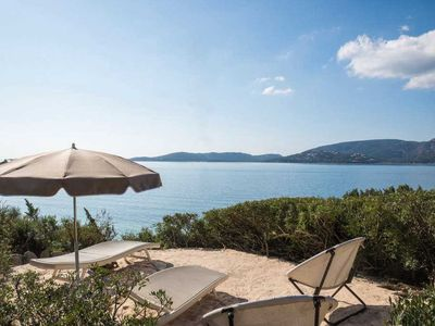 Photo for Villa 2 bedrooms feet in the water in the private domain of Cala Rossa