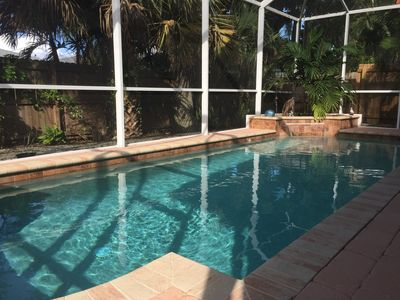 Photo for Large Beach Home With Private Heated Pool! Walk To Beach!  Bikes & Beach Pass!