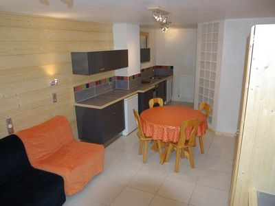 Photo for Ground floor studio in Morzine, southern view, parking, and garden