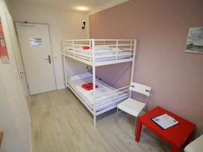 Photo for Small Double Room with Bunk Bed - Flensbed Hostel & Boardinghouse