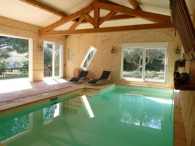 Photo for VILLA WITH SWIMMING POOL COVERED AND HEATED