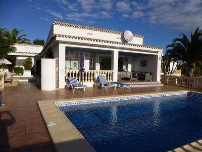 Photo for *SALE JUNE 8-22nd Villa in El Portet, Amazing Panoramic Sea And Mountain Views!*