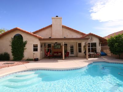 Photo for Charming 3 Bedroom Home with Heated Saline Pool Located, Ahwatukee Phoenix