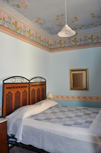 Photo for House with art deco frescos and garden, a village on the hills Marche and Umbria
