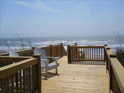 Photo for Gorgeous Private Oceanfront Home With Southern Charm!