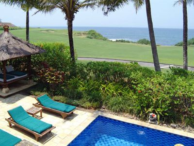 Photo for Ocean Golf,  2/4 Bedroom Villa, Car+Driver, Tanah Lot