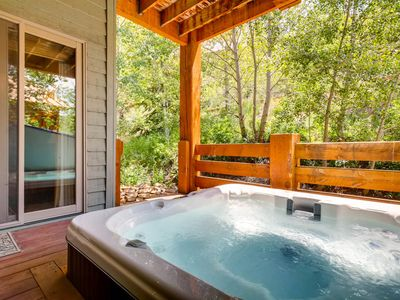 Photo for Private Cozy Mountain Home in Deer Valley's Snow Park Area    Private Hot Tub