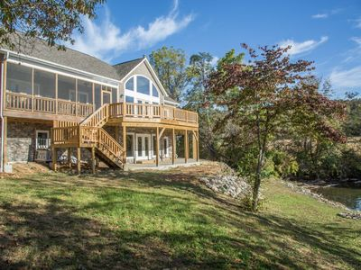 Lake Rider - 5 Bedroom Newly Built Waterfront Home on Claytor Lake - Great Views!