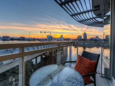 Photo for Waterfront! 2BED/2BA Downtown Condo with Parking!