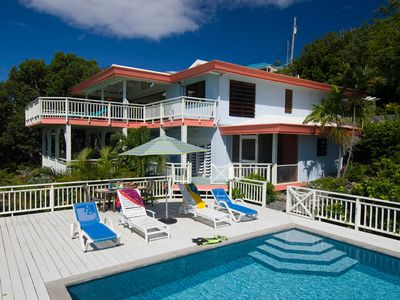 Photo for 5BR Villa Vacation Rental in Chocolate Hole, St John