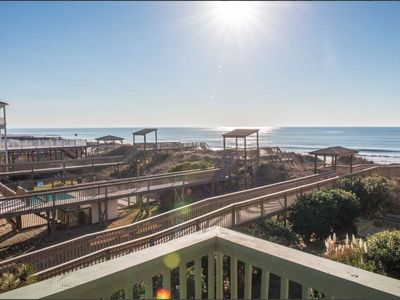 Photo for A Place at the Beach - Side View Oceanfront 2BR Condo