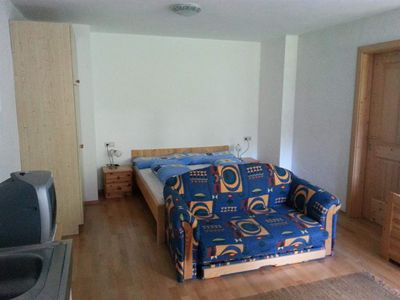 Photo for Apartment No. 4- (4P) / 1 bedroom / shower, - spruce log cabin