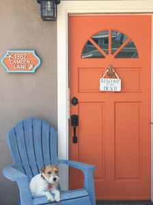 Photo for Only 8 Houses From the Sand!  THE ORANGE DOOR BUNGALOW is the perfect getaway!!