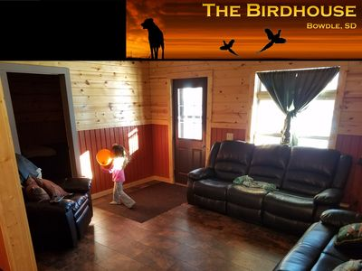Sportsman's Lodging: Pheasant hunting & fishing.