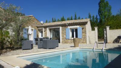 Photo for Mazet Clos des vignes, charming stones with private pool